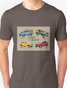 Land Rover 'composite' advert (colour) T-shirt etc... T-Shirt