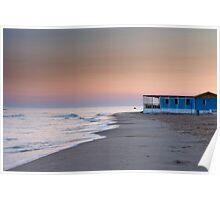 Punta Secca sunset Poster