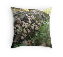 Remnants Throw Pillow