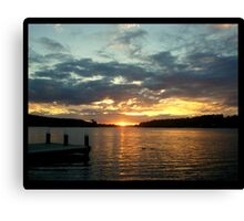 GOODNIGHT WEDNESDAY Canvas Print
