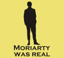 Moriarty was Real (Silhouette) Kids Clothes