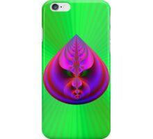 Teardrop on Green iPhone Case/Skin