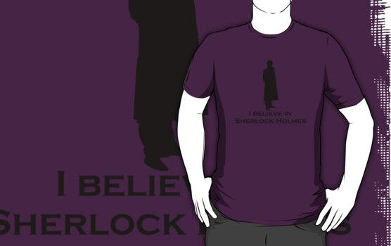 Believe (Sherlock Silhouette) by Anglofile
