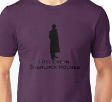 Believe (Sherlock Silhouette) Unisex T-Shirt