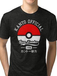 KANTO OFFICIAL POKEMON GYM Tri-blend T-Shirt