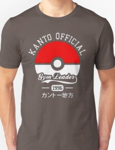 KANTO OFFICIAL POKEMON GYM Unisex T-Shirt