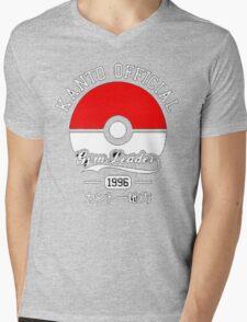 KANTO OFFICIAL POKEMON GYM Mens V-Neck T-Shirt
