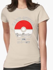 KANTO OFFICIAL POKEMON GYM Womens Fitted T-Shirt