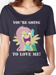 You're Going to Love Me! - Fluttershy Women's Relaxed Fit T-Shirt