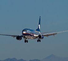 XA-PAM Aeromexico by Henry Plumley