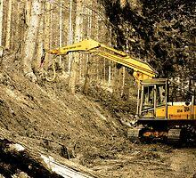 Forestry machine 1 by kevindobie