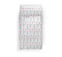 Vector pattern with cute sheep Duvet Cover