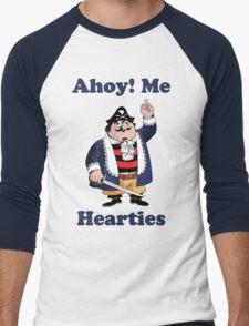 Pirate Pugwash - Ahoy Me Hearties Men's Baseball ¾ T-Shirt