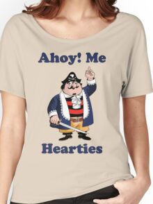 Pirate Pugwash - Ahoy Me Hearties Women's Relaxed Fit T-Shirt