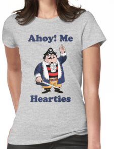 Pirate Pugwash - Ahoy Me Hearties Womens Fitted T-Shirt