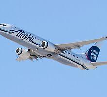 N534AS Alaska Airlines, Boeing 737-890 by Henry Plumley