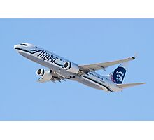 N534AS Alaska Airlines, Boeing 737-890 Photographic Print
