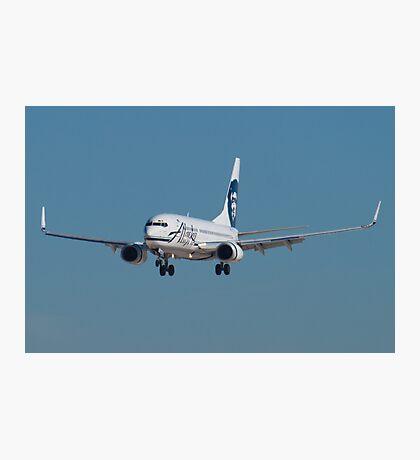 N609AS Alaska Airlines Boeing 737-790 Photographic Print