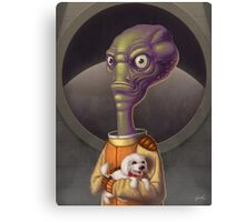 Spacehead Joe Canvas Print
