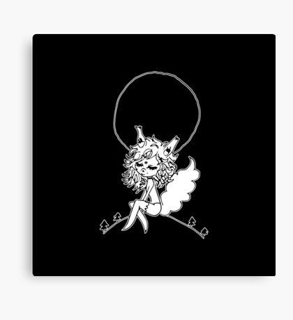 ▴ werewolf ▴ Canvas Print
