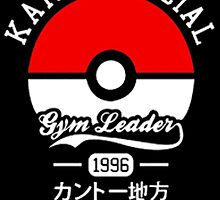 KANTO OFFICIAL POKEMON GYM by zombiehorde