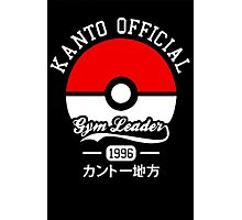 KANTO OFFICIAL POKEMON GYM Photographic Print