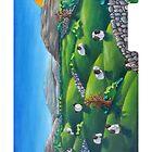 Burren Sheep by olonguet