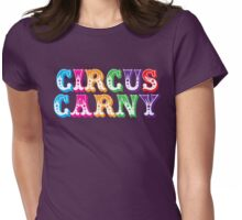 CIRCUS CARNY (carnival folk) Womens Fitted T-Shirt
