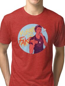 Moriarty was FAKE Tri-blend T-Shirt