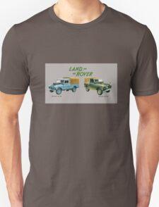 Land Rover 'composite' advert (Covered Landy's) T-shirt etc... T-Shirt