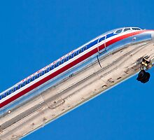 Nose shot of N487AA American Airlines, McDonnell Douglas DC-9 by Henry Plumley