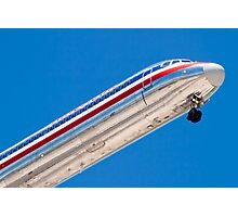 Nose shot of N487AA American Airlines, McDonnell Douglas DC-9 Photographic Print