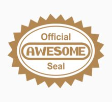 Official Awesome Seal Kids Clothes