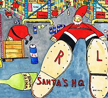 Santa's HQ by doatley