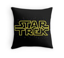 Star Trek - Star Wars parody Throw Pillow