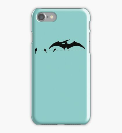 Bird on a wire expanded iPhone Case/Skin