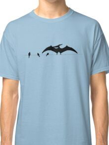 Bird on a wire expanded Classic T-Shirt