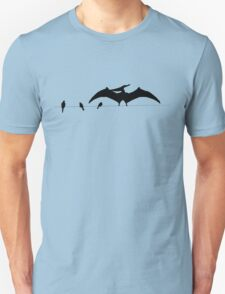 Bird on a wire expanded T-Shirt