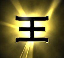 PRZ Gold Ranger Symbol by Russ Jericho