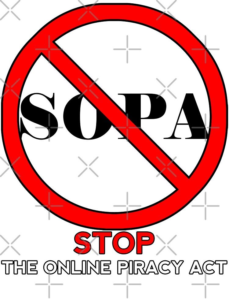 STOP SOPA by Maxdoggy