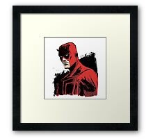 Daredevil Superhero Framed Print