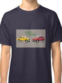 Land Rover 'composite' advert ('Saloon' Landy's) T-shirt etc... Classic T-Shirt