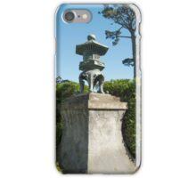 Japanese Lantern, Japanese Tea Garden iPhone Case/Skin