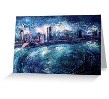 Montreal at Night Greeting Card