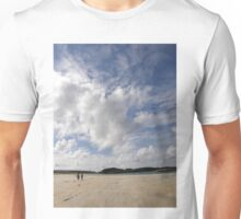 Walking Keadue Beach Donegal Ireland Unisex T-Shirt