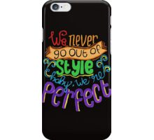 Perfect Style iPhone Case/Skin