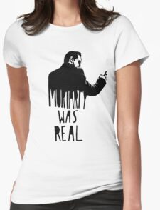 Moriarty Was Real - Black Womens Fitted T-Shirt