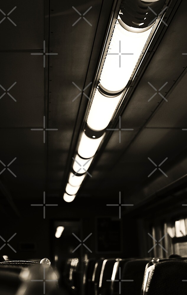 Lightbar on the Train by AndrewBerry