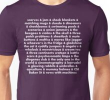 the perks of being a sherlockian Unisex T-Shirt
