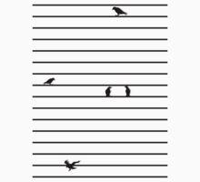Score of Birds Baby Tee